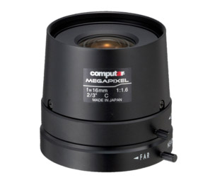MegaPixel Monofocal Lenses M1616FIC-MP Dealer Singapore